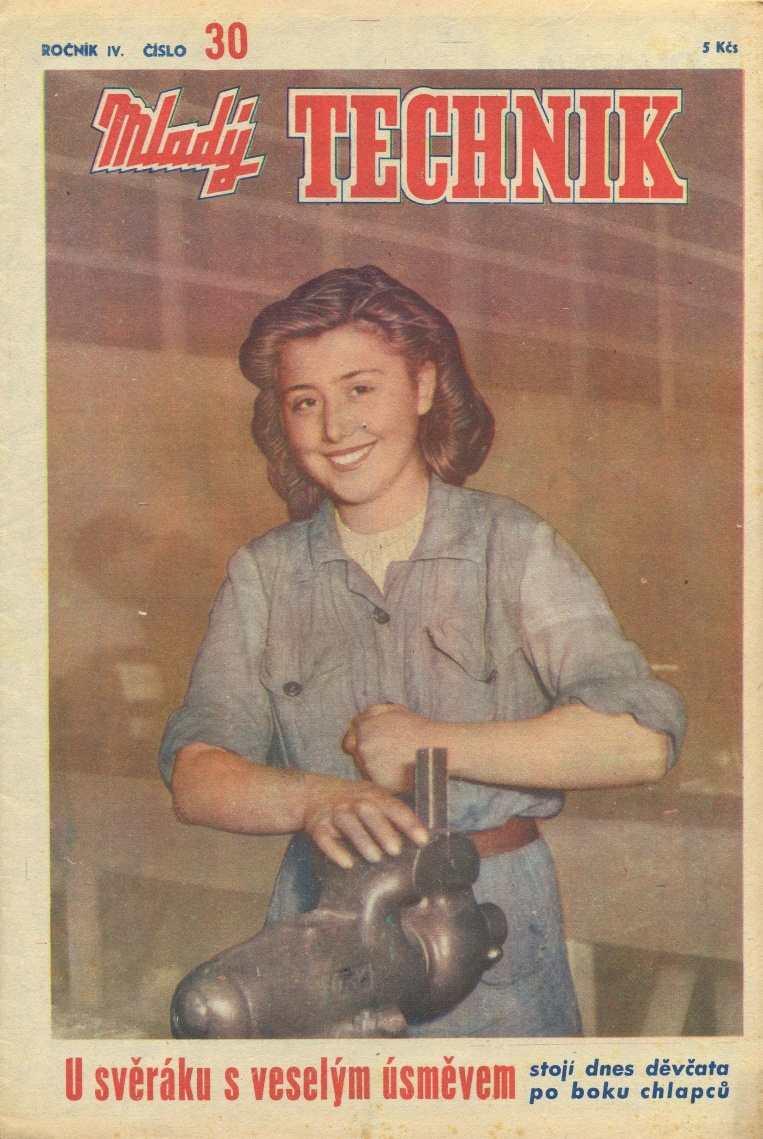 MLADÝ TECHNIK 4 (1950) - 30