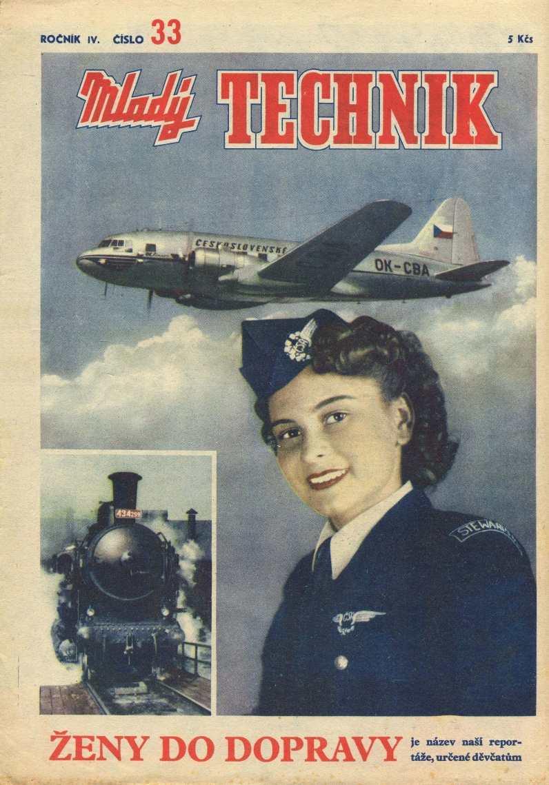 MLADÝ TECHNIK 4 (1950) - 33