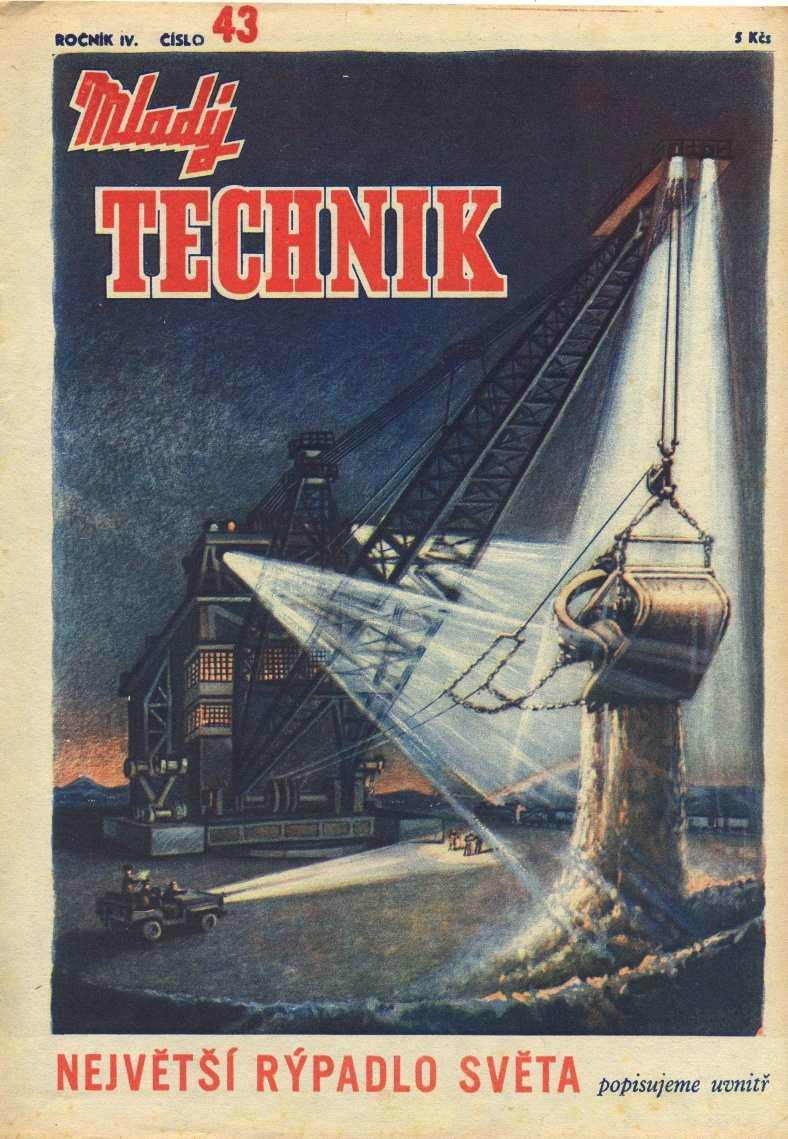 MLADÝ TECHNIK 4 (1950) - 43