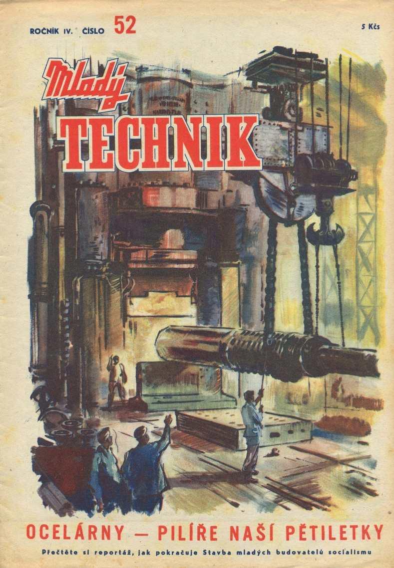 MLADÝ TECHNIK 4 (1950) - 52