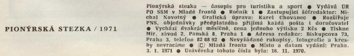STEZKA_1_(1970)_01_TIRAŽ
