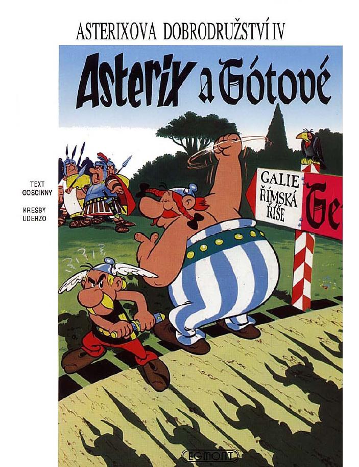 4 - asterix a gótové