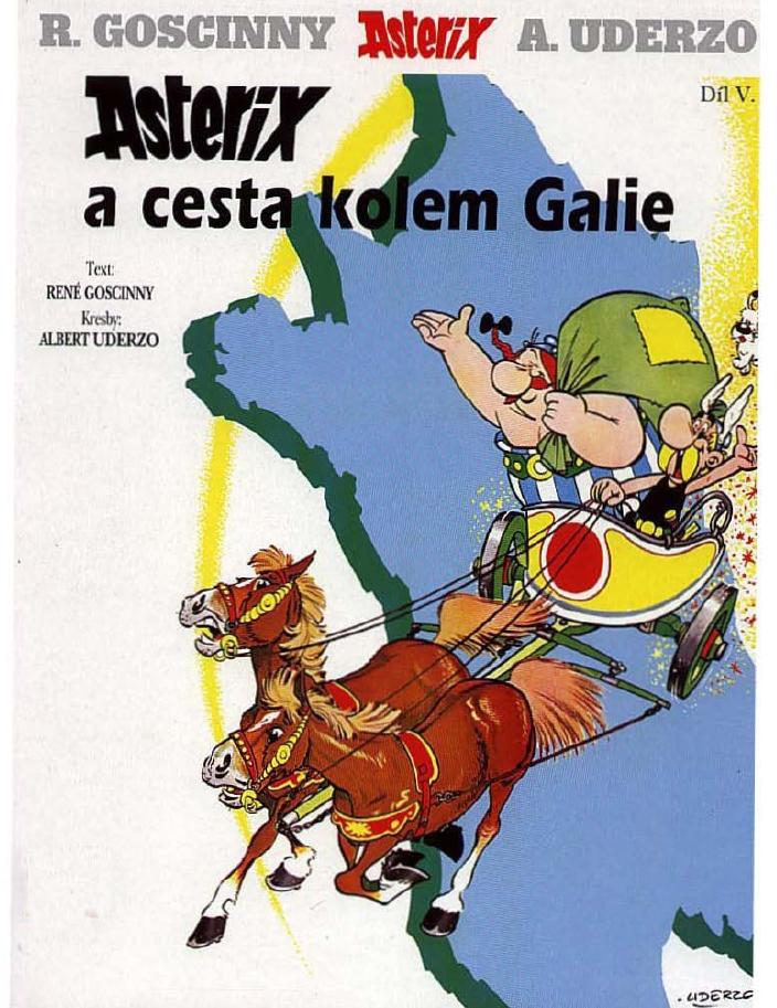 5 - asterix a cesta kolem gálie