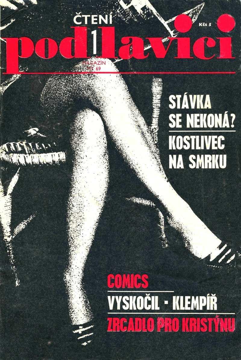 CTENI POD LAVICI 1.rocnik (1969) cislo 1