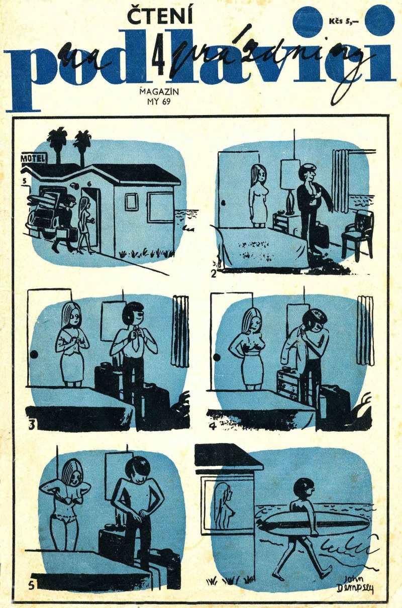 CTENI POD LAVICI 1.rocnik (1969) cislo 4