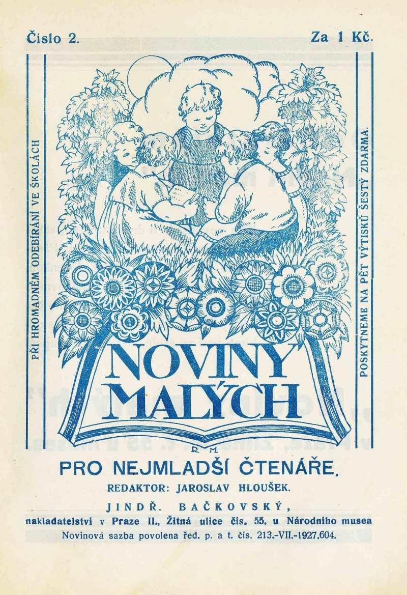 NOVINY MALÝCH 6.ročník (1932-33) číslo 02