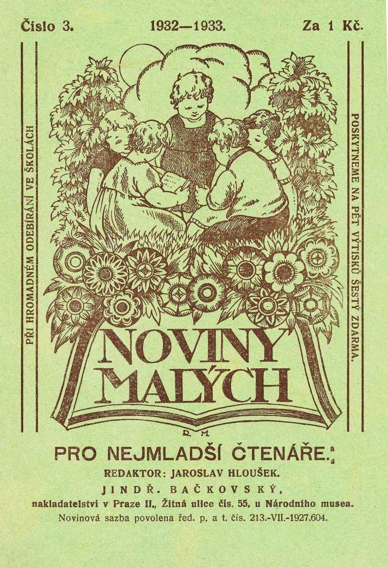 NOVINY MALÝCH 6.ročník (1932-33) číslo 03