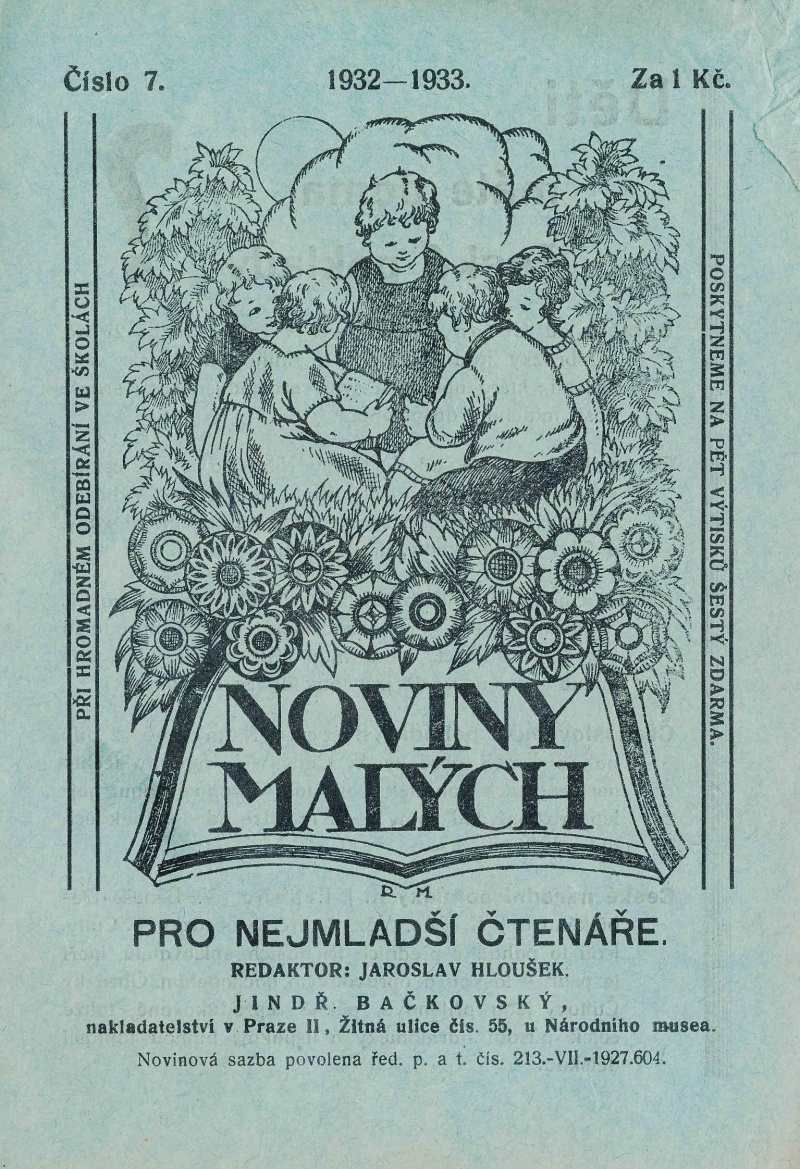 NOVINY MALÝCH 6.ročník (1932-33) číslo 07