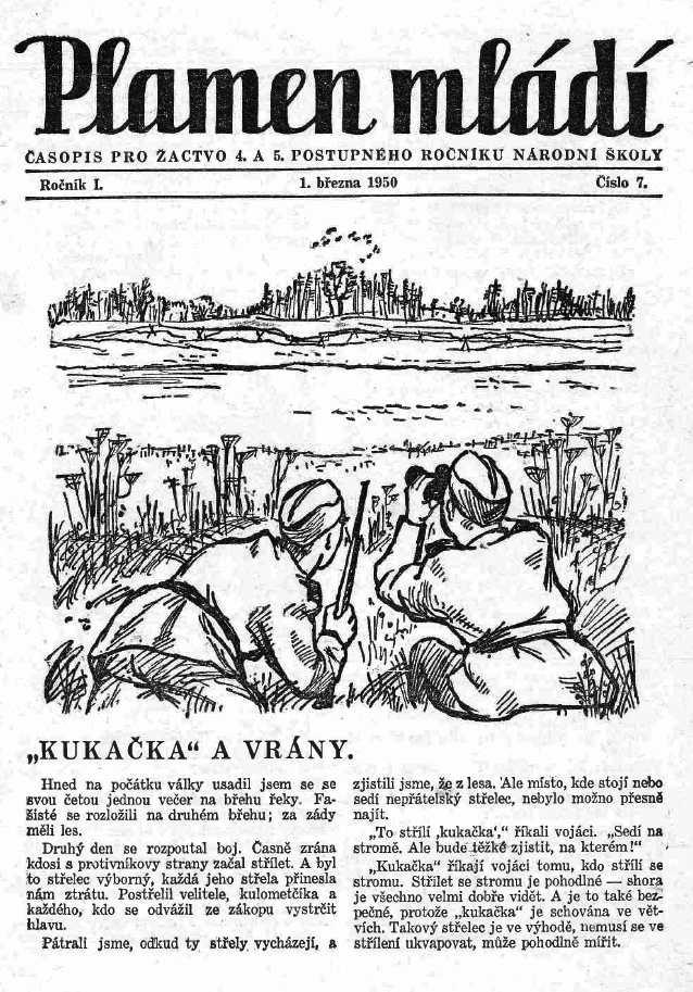 PLAMEN_MLADI_1.rocnik_(1949-50)_cislo_07