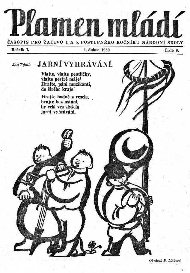 PLAMEN_MLADI_1.rocnik_(1949-50)_cislo_08