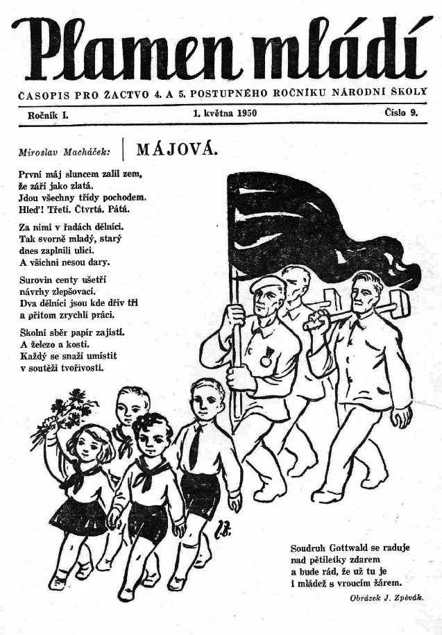 PLAMEN_MLADI_1.rocnik_(1949-50)_cislo_09