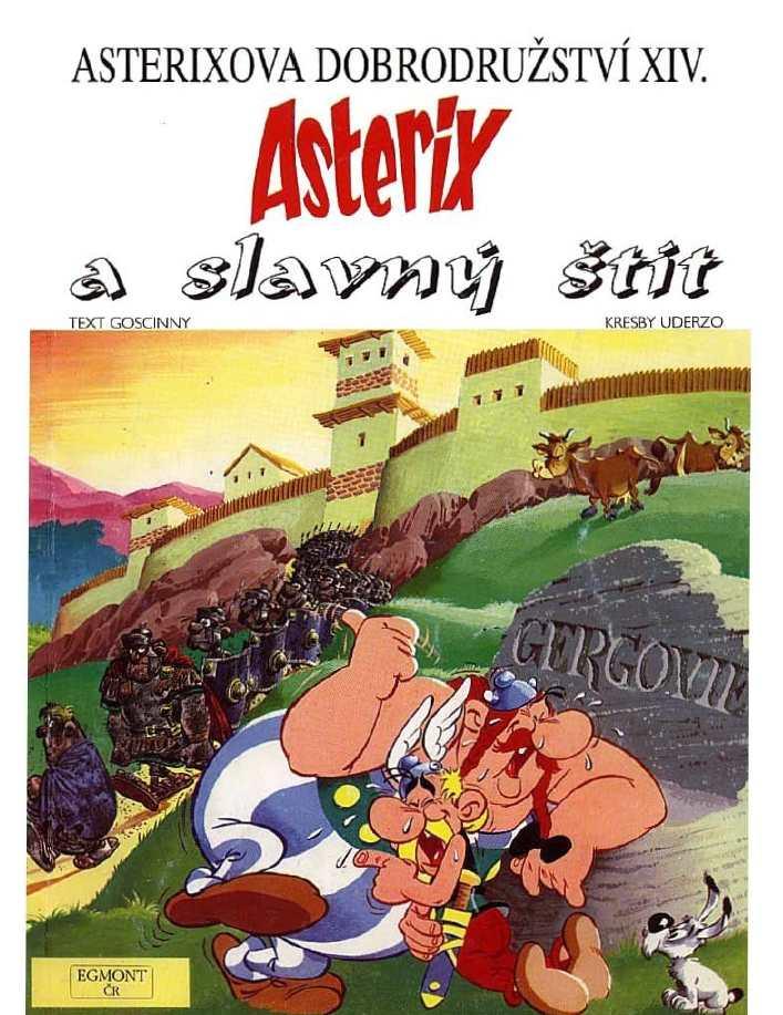 14_Asterix a slavny stit