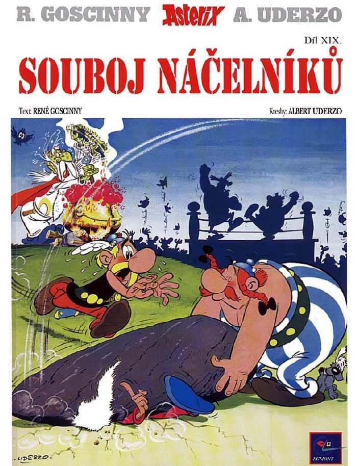 19_Asterix a souboj nacelniku