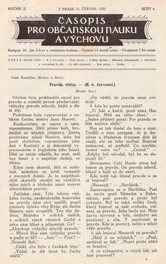 CASOPIS_PRO_OBCANSKOU_NAUKU_A_VYCHOVU_2.rocnik_(1925)_cislo_06