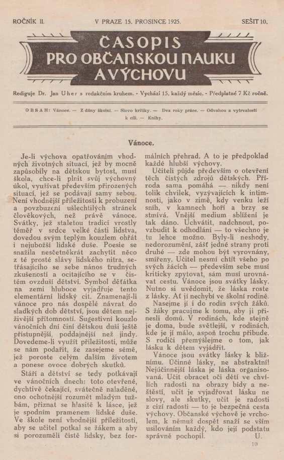 CASOPIS_PRO_OBCANSKOU_NAUKU_A_VYCHOVU_2.rocnik_(1925)_cislo_10