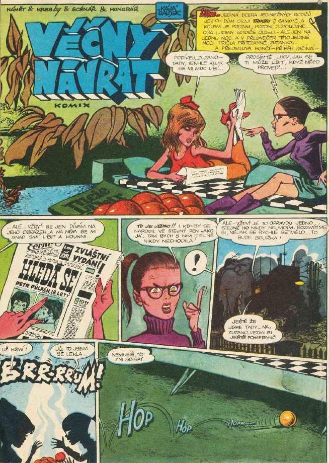 Lucie a Petr_rocnik_1_cislo 07 - komiks