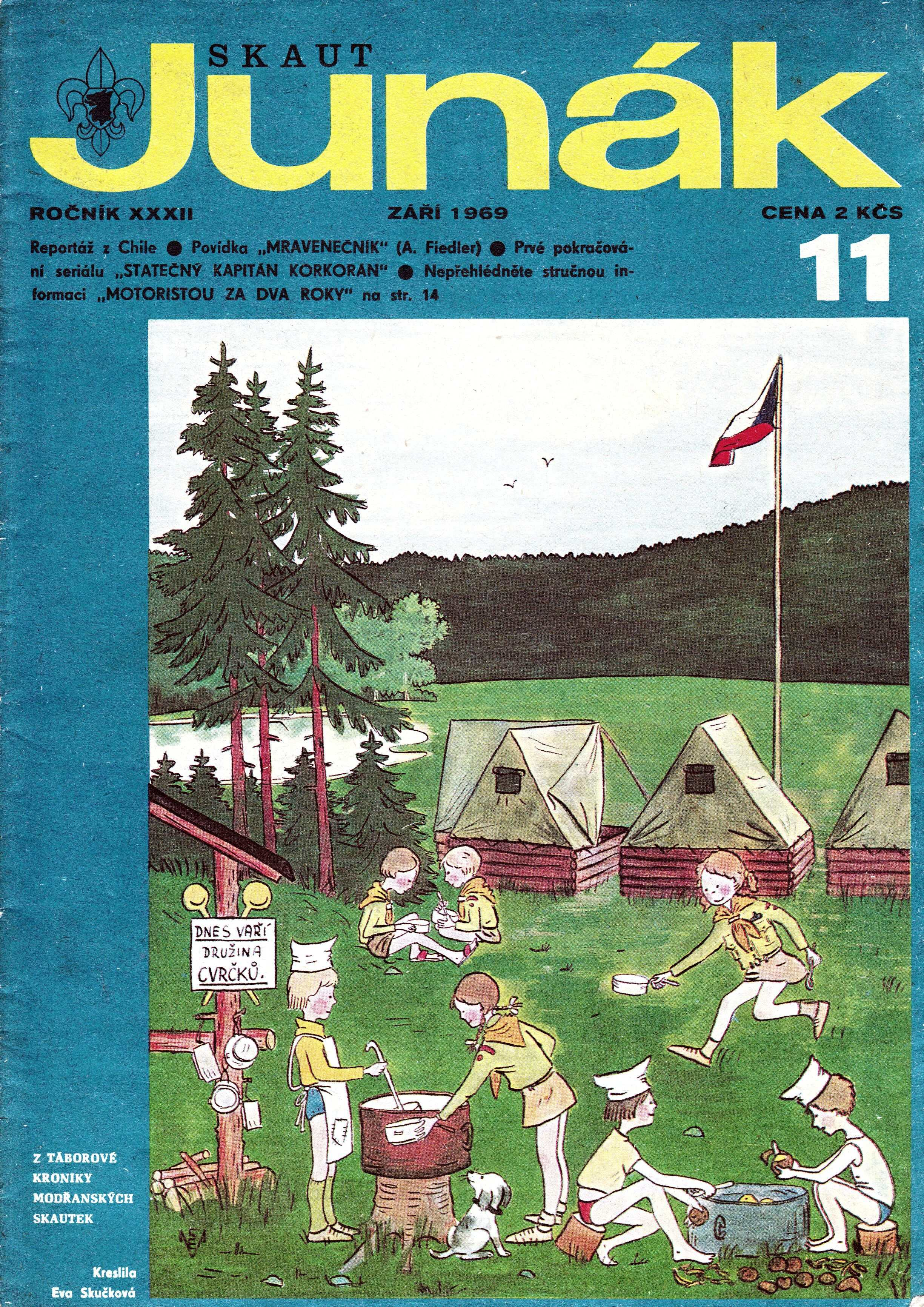 JUNAK_32.rocnik_1969-70_cislo_11