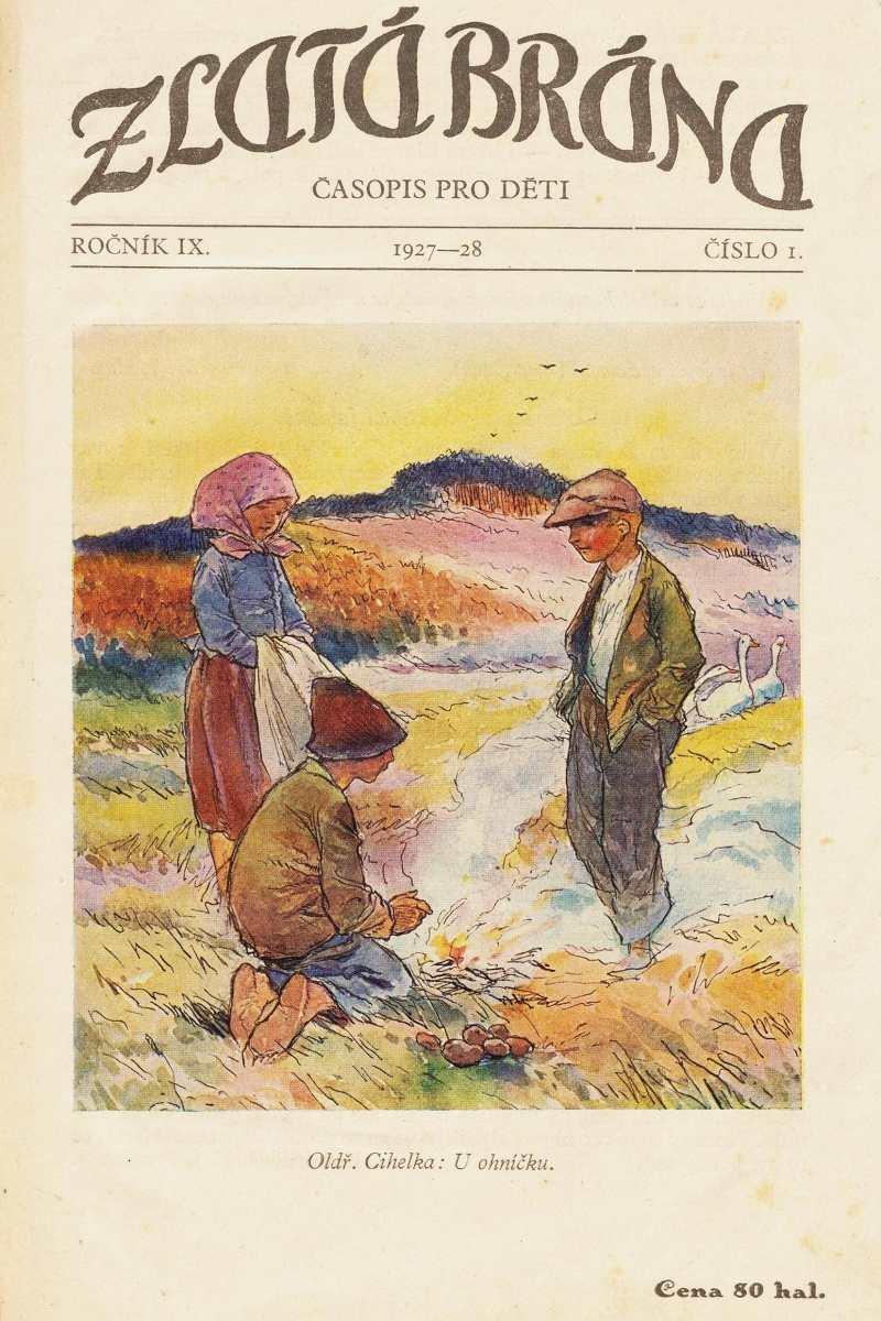 ZLATA_BRANA_9.rocnik_(1927-28)_cislo_01