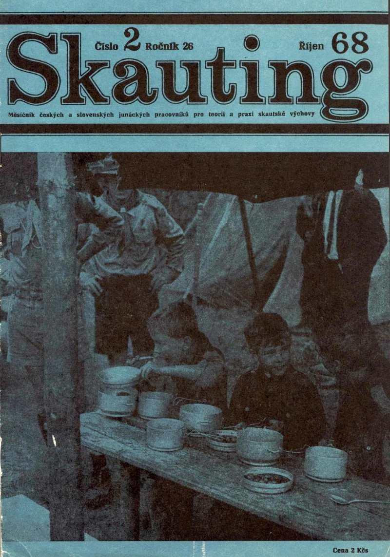SKAUTING_26.rocnik_(1968)_cislo_2