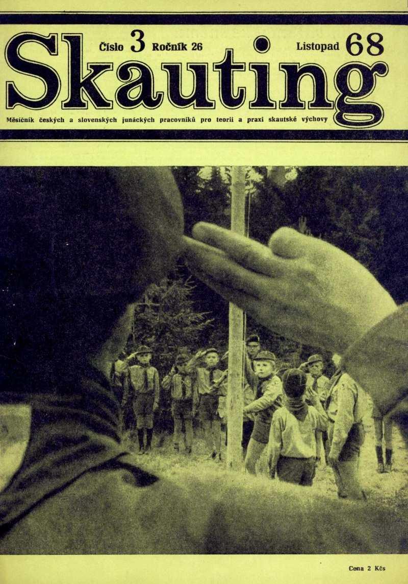 SKAUTING_26.rocnik_(1968)_cislo_3