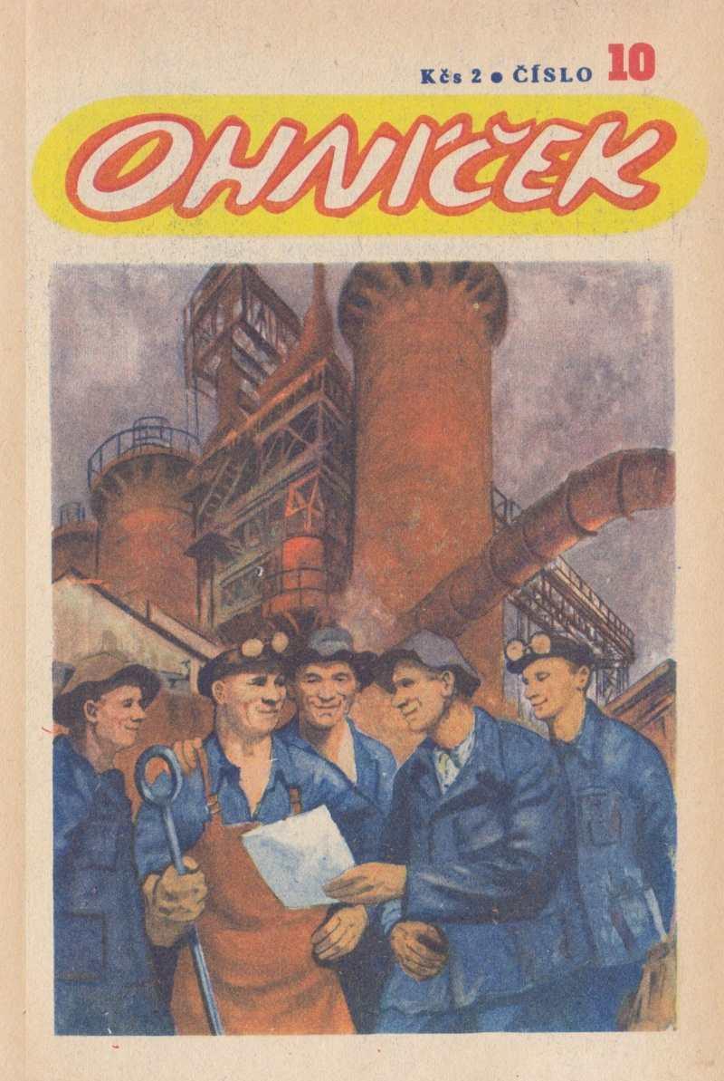 OHNICEK_1.rocnik_(1950-51)_cislo_10