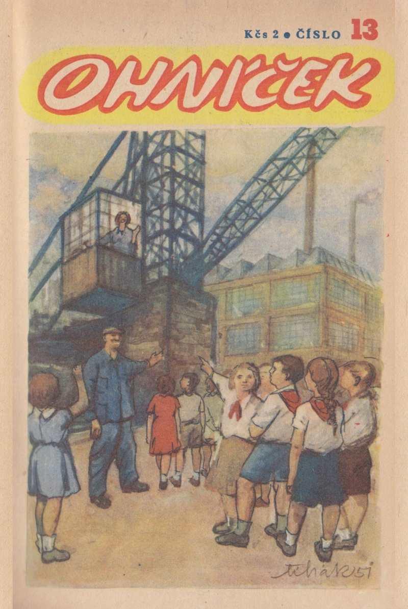 OHNICEK_1.rocnik_(1950-51)_cislo_13