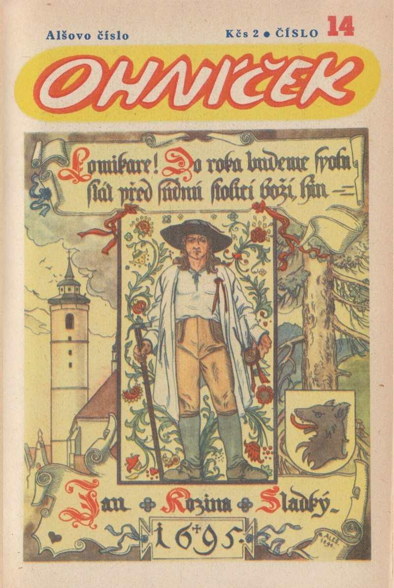 OHNICEK_1.rocnik_(1950-51)_cislo_14