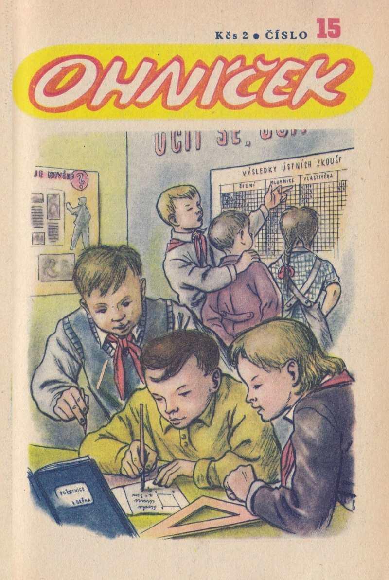 OHNICEK_1.rocnik_(1950-51)_cislo_15