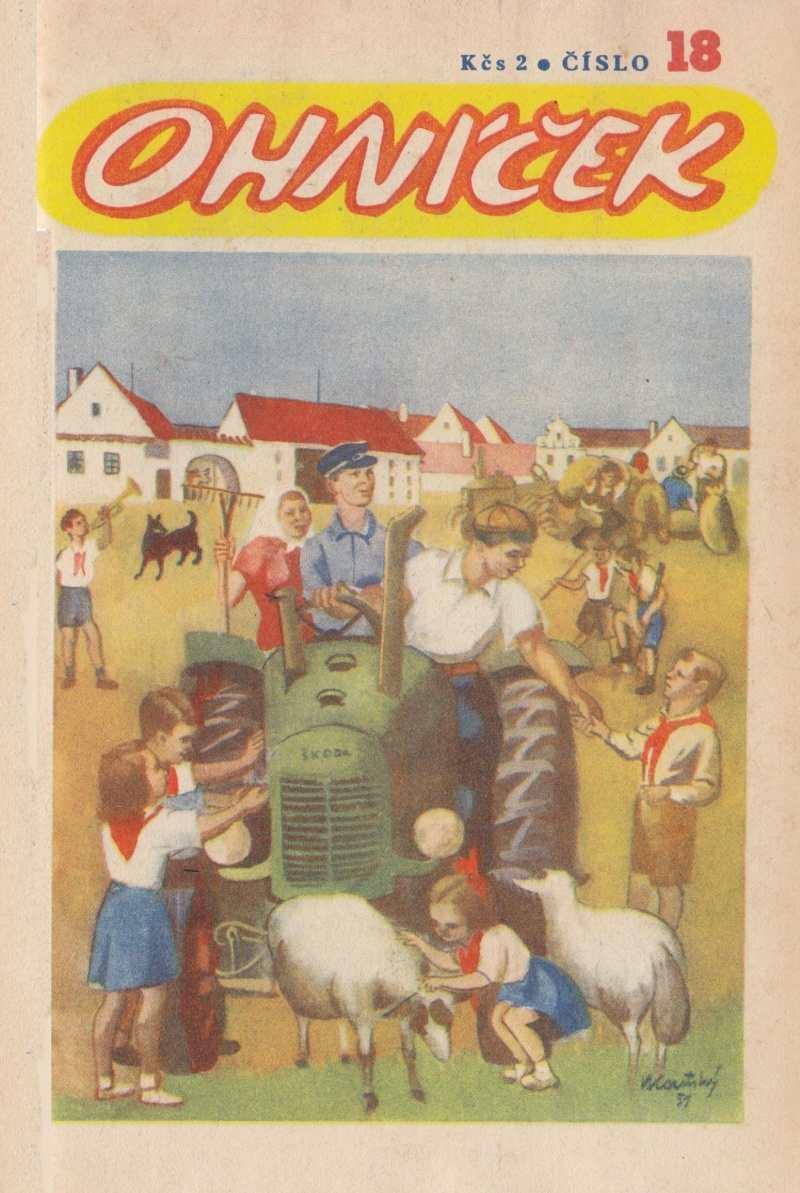 OHNICEK_1.rocnik_(1950-51)_cislo_18