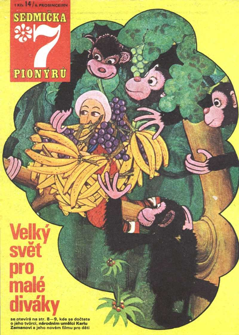 SEDMICKA_PIONYRU_8.rocnik_(1974-75)_cislo_14