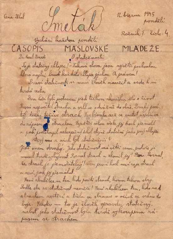 SMETAK_1.rocnik_(1945)_cislo_4