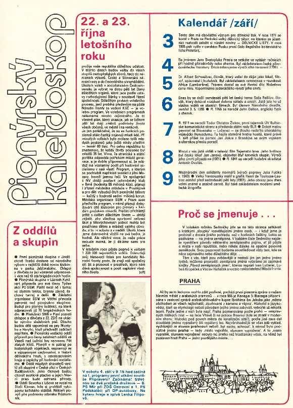 sedmicka_pionyru_10.rocnik_(1976-77)_cislo_01_strana_2_pionyrsky_kaleidoskop