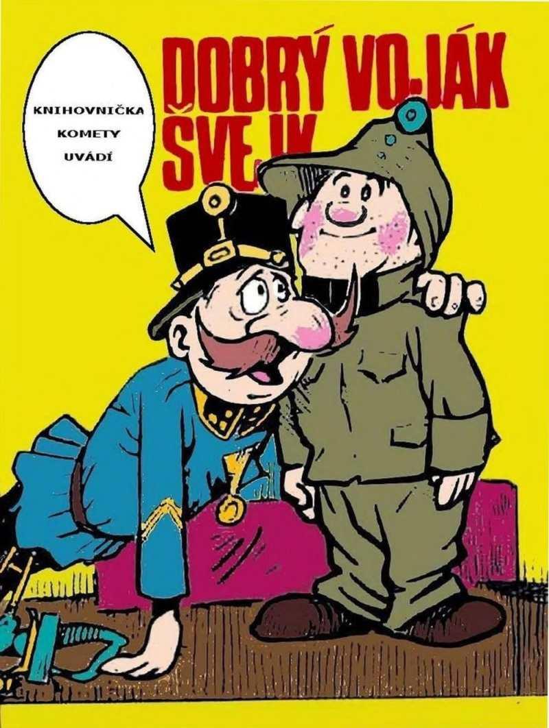KNIHOVNICKA_KOMETY_cislo_3_ Dobry_vojak_Svejk