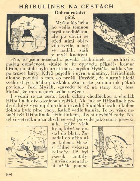 VLASTOVICKA_4.rocnik_(1940-41)_cislo_07_hribulinek_na_cestach