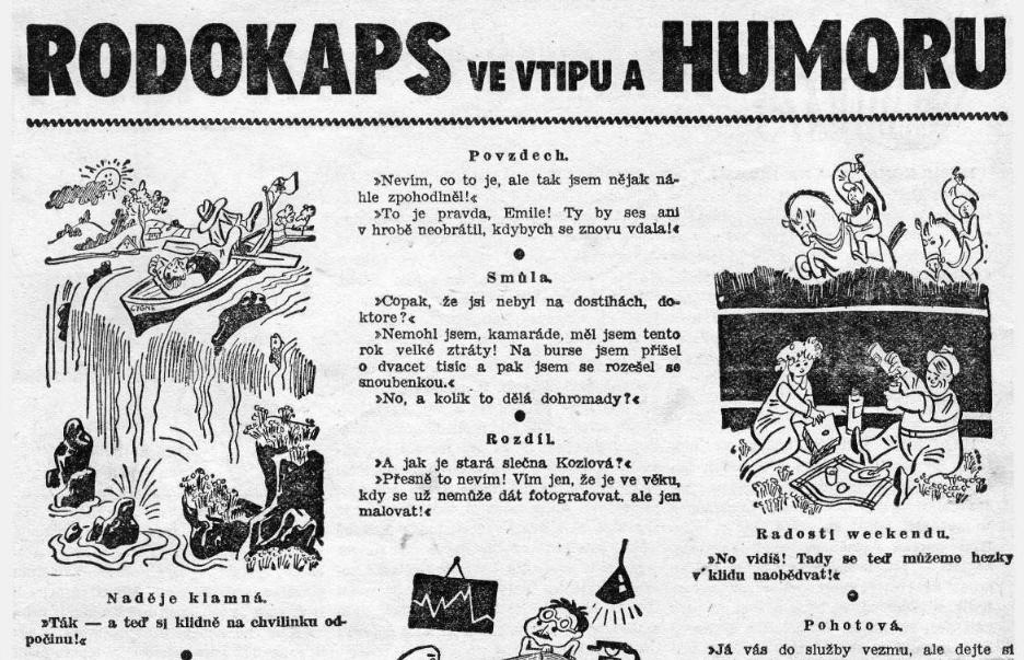 RODOKAPS_3.rocnik_1937-38_cislo_121_PROC_ZEMREL_CATHFIELD_humor