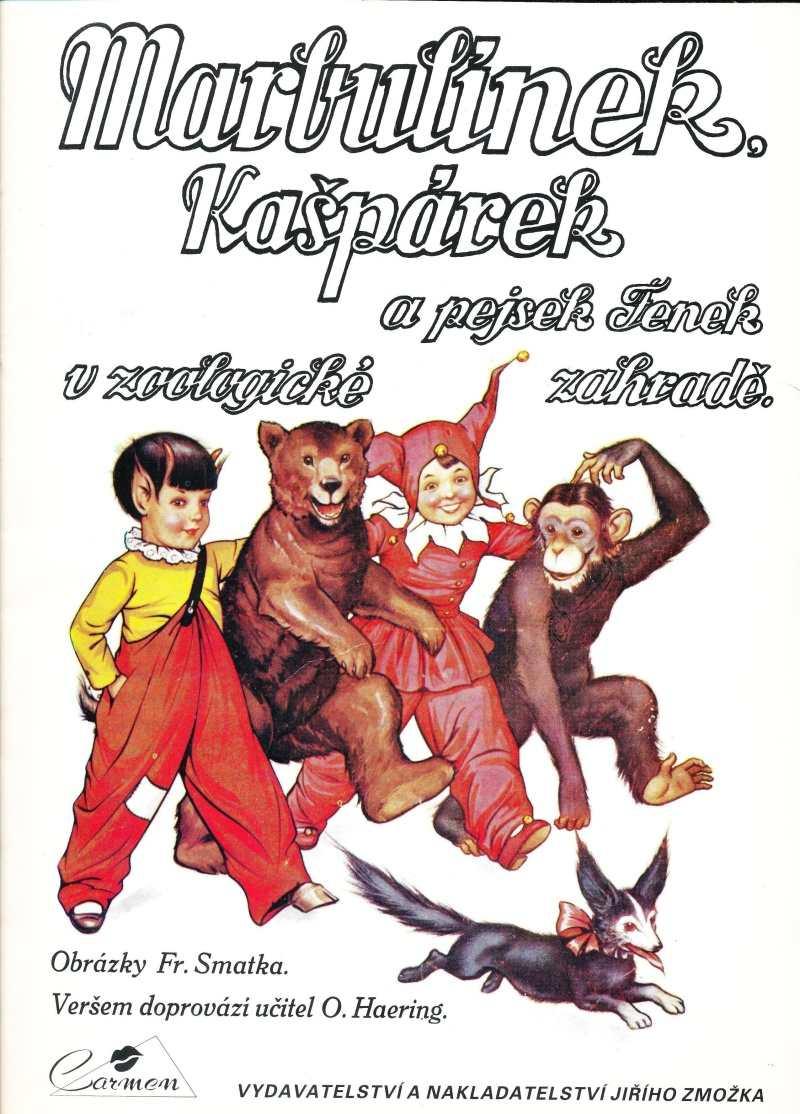 MARBULINEK_(1992)_cislo_05_Marbulinek_Kasparek_a_pejsek_Fenek_v_ZOO