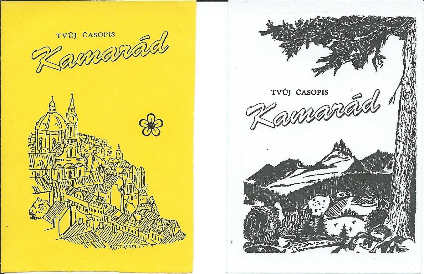 KAMARAD_0.rocnik_(1994)_listky