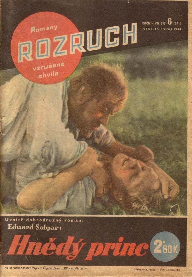 ROZRUCH_7.rocnik_(1944)_cislo_271_Hnedy_princ