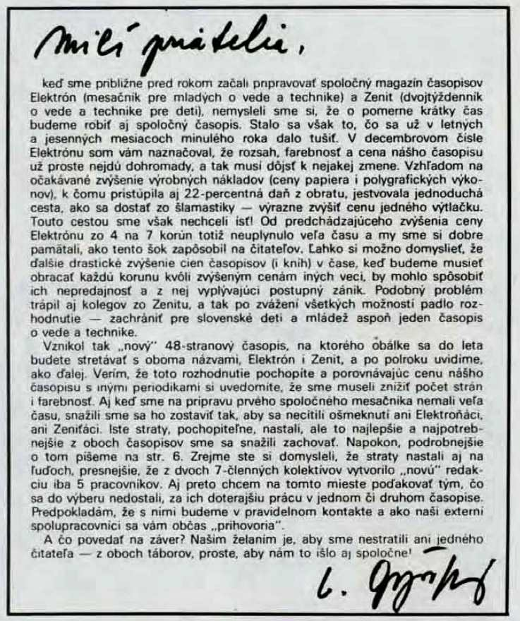 ELEKTRON-ZENIT_1.rocnik_(1991)_cislo_01_uvod