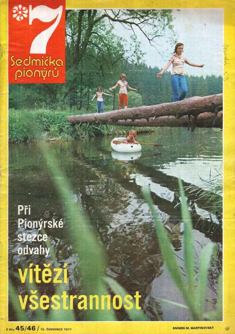 SEDMICKA_PIONYRU_10.rocnik_(1976-77)_cislo_45-46