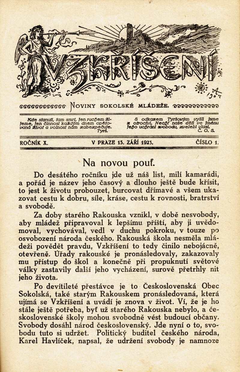 VZKRISENI_10.rocnik_(1923-24)_cislo_01