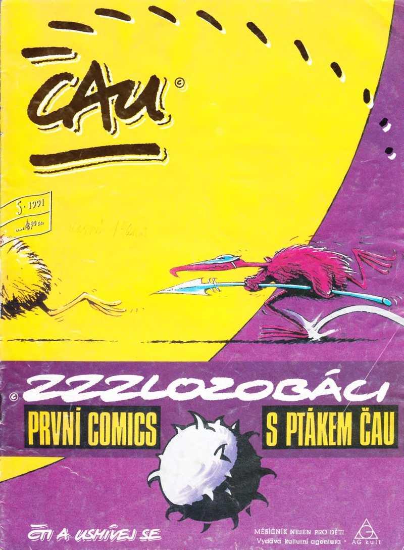CAU_1.rocnik_(1991)_cislo_05