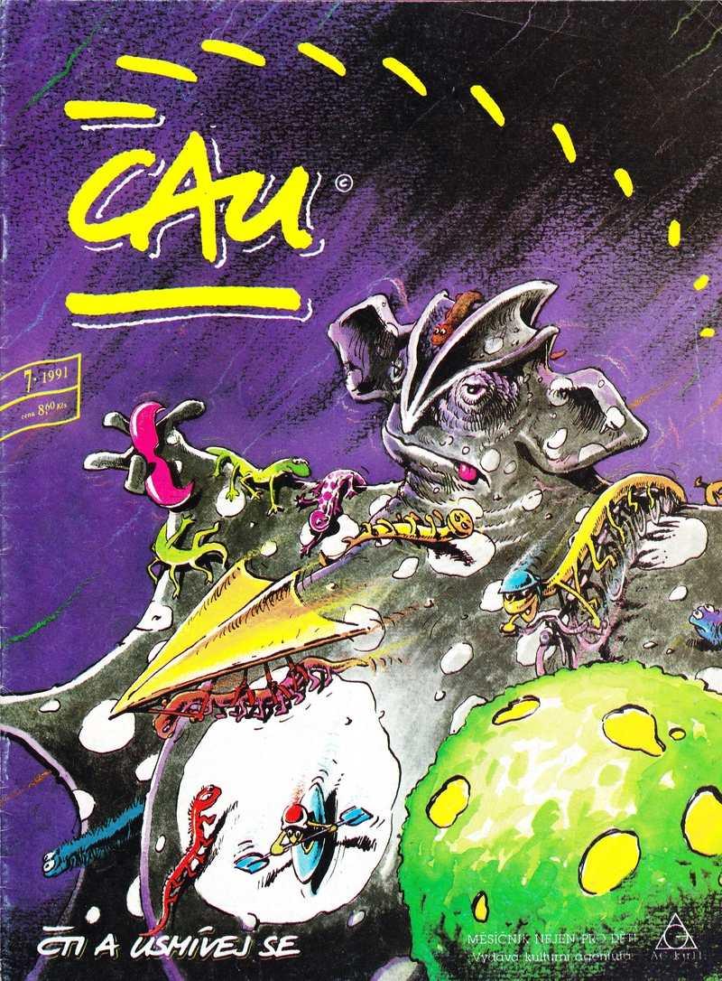 CAU_1.rocnik_(1991)_cislo_07