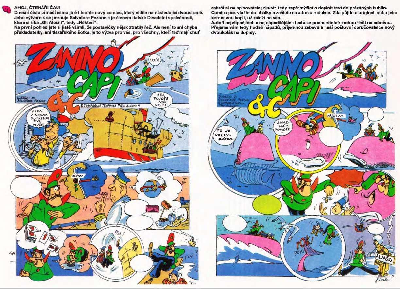 CAU_1.rocnik_(1991)_cislo_12_komiks_ZANINO_CAPI