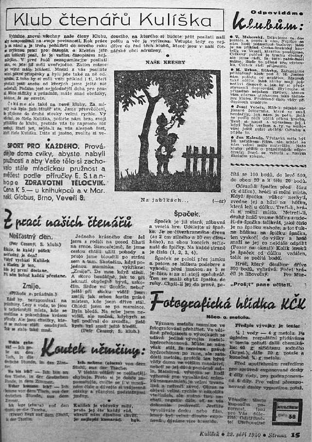 KULISEK_15.rocnik_(1940)_cislo_38_klub_ctenaru