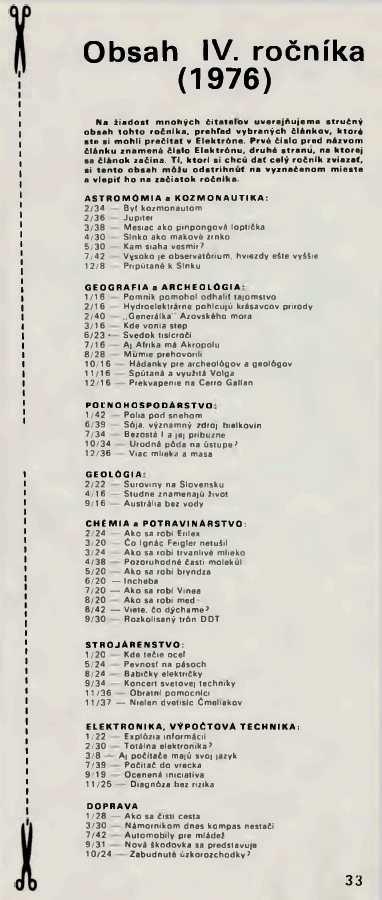 elektron_4-rocnik_1976_cislo_12_obsah
