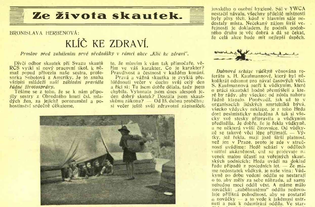 junak_15-rocnik_1928-29_cislo_08_ze_zivota_skautek