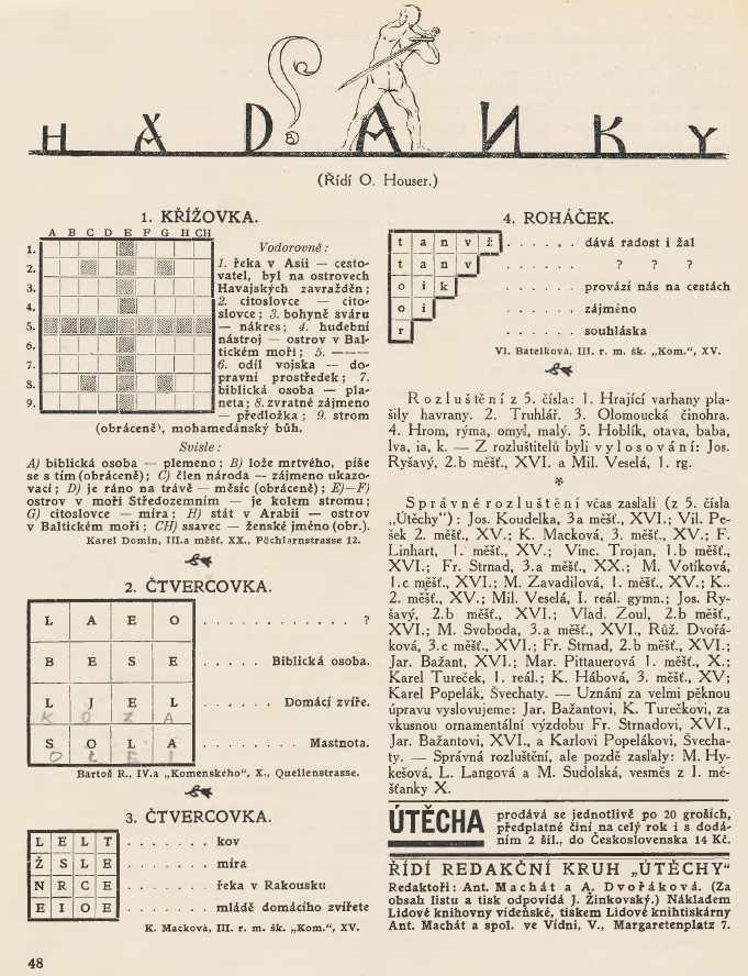 utecha_5-rocnik_1926-27_cislo_06_hadanky