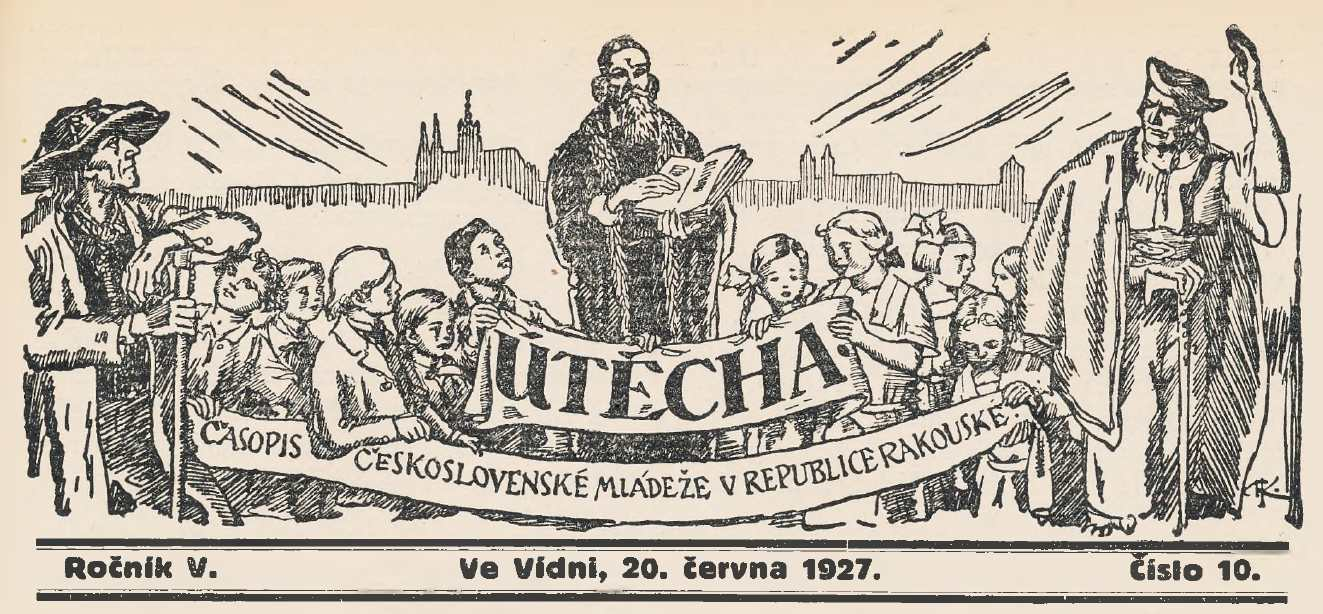 utecha_5-rocnik_1926-27_cislo_10_hlavicka