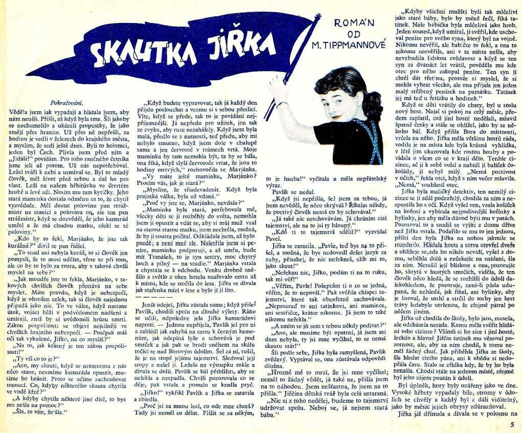 punta_4-rocnik_1938_cislo_45_skautka_jirka